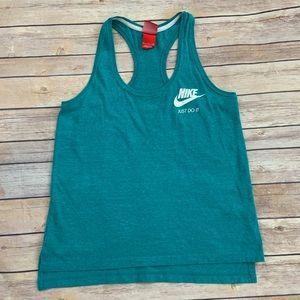 Nike Turquoise Tank Top